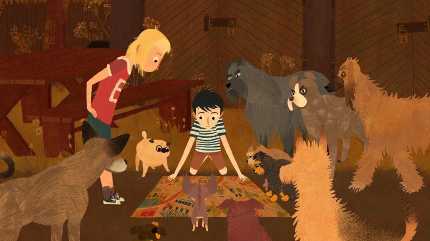 CINEMA FAMILIAR EN CATALÀ: Jacob, Mimi i els gossos delbarri